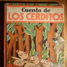 Libri antichi: LOS CERDITOS - SOCIEDAD GENERAL ESPAÑOLA DE LIBRERÍA - SDAD GRAL - AÑO 1936 - ANTONIO ROBLES - ÚNICO. Lote 230724000