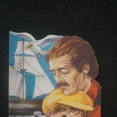 Libros antiguos: MARCO EL NIÑO GENOVES, DE LOS APENINOS A LOS ANDES, EDICIONES TORAY AÑO 1977, CUENTO TROQUELADO. Lote 231224385