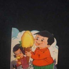 Libros antiguos: PERICO EL TRAGON, CUENTOS TORAY AÑO 1962, EDICIONES TORAY, CUENTO TROQUELADO. Lote 231227465