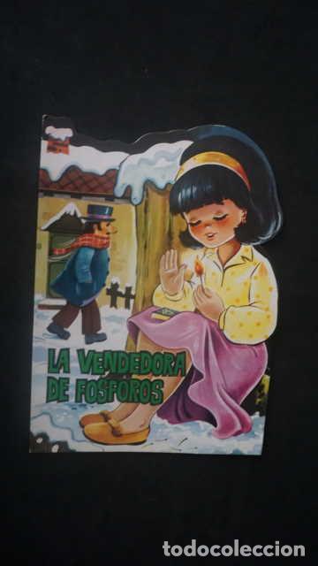 LA VENDEDORA DE FOSFOROS, PRODUCCIONES EDITORIALES AÑO 1973, CUENTO TROQUELADO (Libros Antiguos, Raros y Curiosos - Literatura Infantil y Juvenil - Cuentos)