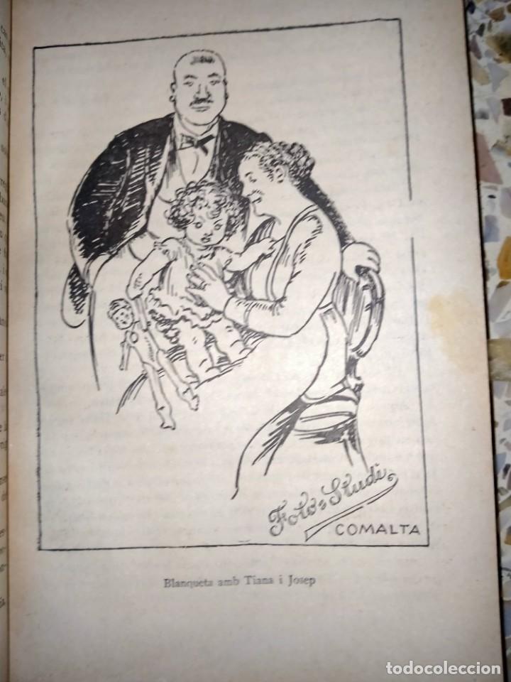 Libros antiguos: LA BLANCA CASA DE LA MARESELVA - FOLCH I TORRES -BAGUÑÀ, 1932 - BIBLIOTECA PATUFET - Foto 3 - 231533505