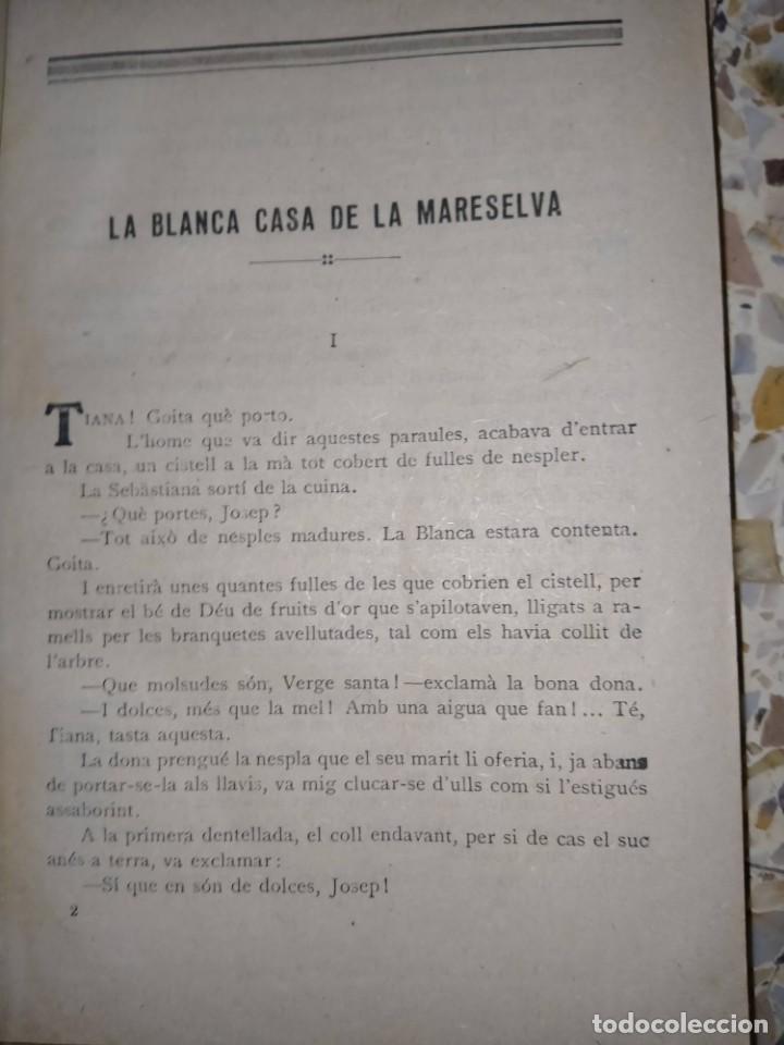Libros antiguos: LA BLANCA CASA DE LA MARESELVA - FOLCH I TORRES -BAGUÑÀ, 1932 - BIBLIOTECA PATUFET - Foto 4 - 231533505