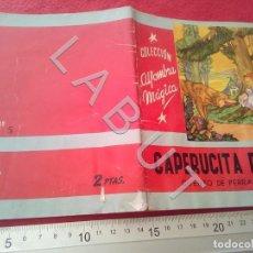 Libri antichi: COLECCION ALFOMBRA MAGICA CAPERUCITA ROJA 5 MOLINO U27. Lote 232640605