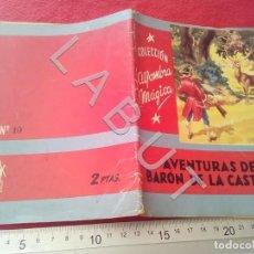 Libri antichi: COLECCION ALFOMBRA MAGICA AVENTURAS DEL BARON DE LA CASTAÑA 19 MOLINO U27. Lote 232640870