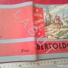 Libri antichi: COLECCION ALFOMBRA MAGICA 20 BERTOLDO MOLINO U27. Lote 232646760