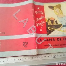 Libri antichi: COLECCION ALFOMBRA MAGICA 42 LA RANA DE ORO MOLINO U27. Lote 232646843