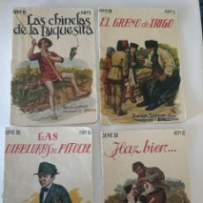 Libros antiguos: LOTE 4 CUENTOS COLECCION INFANTIL RAMON SOPENA EDITOR - ORIGINALES ANTIGUOS. Lote 232878210