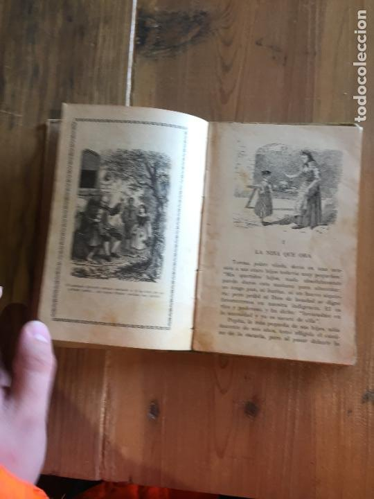 Libros antiguos: Antiguo libro cuentecitos morales e instructivos por Cristóbal Schmid por J. Arroyo y Almela año1905 - Foto 5 - 233044280