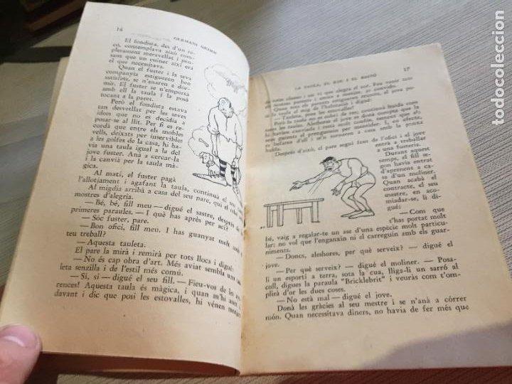 Libros antiguos: Antiguo libro infantil contes dahir i davui numero 8 años 30-40 - Foto 4 - 233332405