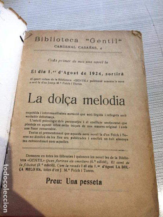 Libros antiguos: Antiguo libro cuento comla rosada biblioteca gentil por J.M. Folchi Torres año 1924 - Foto 2 - 233435610