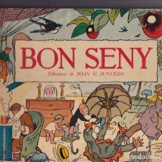 Libros antiguos: BON SENY. AFORISMES - FAULES I ACUDITS DIBUIXATS PER JOAN G. JUNCEDA -JOAN PUNTI -1959. Lote 233766650