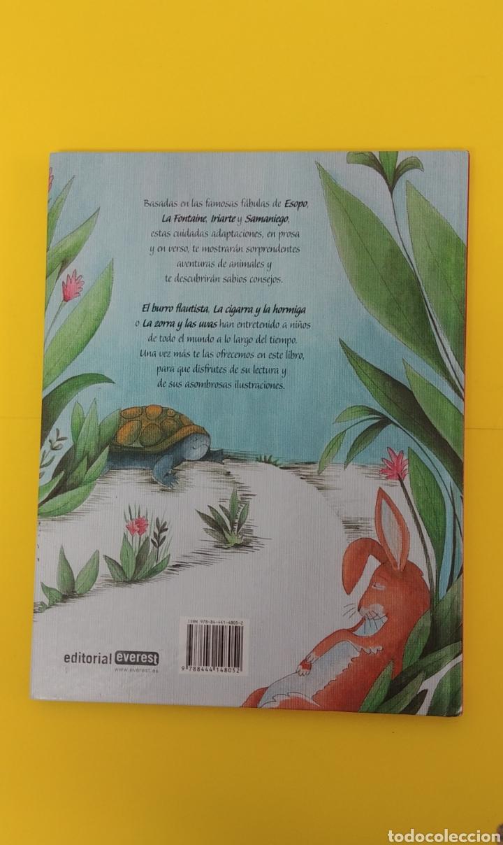 Libros antiguos: Fabulas de siempre. Editorial Everest - Foto 2 - 233862555