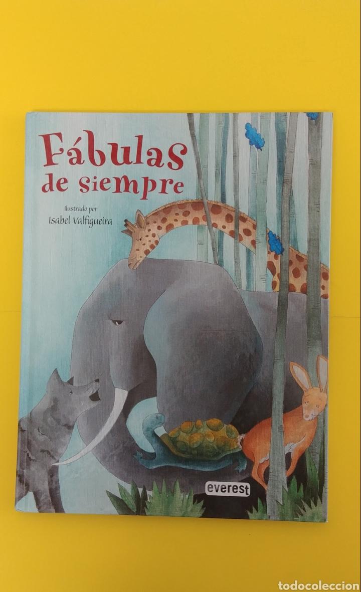 FABULAS DE SIEMPRE. EDITORIAL EVEREST (Libros Antiguos, Raros y Curiosos - Literatura Infantil y Juvenil - Cuentos)