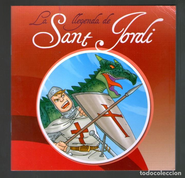 LA LLEGENDA DE SANT JORDI - ARA LLIBRES (Libros Antiguos, Raros y Curiosos - Literatura Infantil y Juvenil - Cuentos)