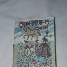 Libros antiguos: ANTIGUO CUENTO MORAL DE CALLEJA CHIN-PIRRI-PI-CHIN. Lote 234145920