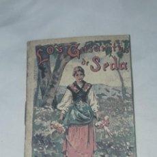 Livros antigos: ANTIGUO CUENTO MORAL DE CALLEJA LOS GUSANITOS DE SEDA. Lote 234146380