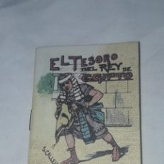 Livros antigos: ANTIGUO CUENTO MORAL DE CALLEJA EL TESORO DEL REY DE EGIPTO. Lote 234146540