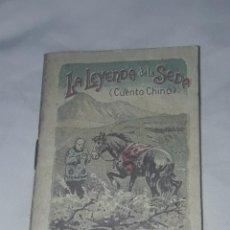 Livros antigos: ANTIGUO CUENTO MORAL DE CALLEJA LA LEYENDA DE LA SEDA 1901. Lote 234146600