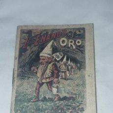 Livros antigos: ANTIGUO CUENTO MORAL DE CALLEJA LOS ENANOS DE ORO. Lote 234146620