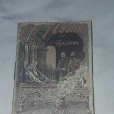 Livros antigos: ANTIGUO CUENTO MORAL DE CALLEJA EL TESORO DE SALOMÓN 1901. Lote 234146640