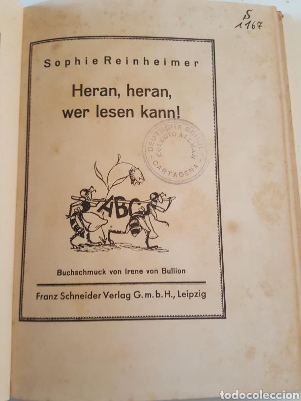 Libros antiguos: Libro en Alemán Heran wer lesen kann! De Sophie Reinheimer año 1929 - Foto 3 - 234754910