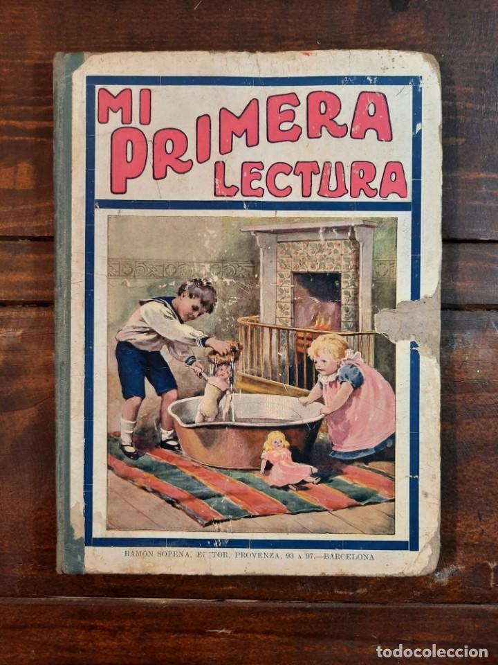 Libros antiguos: MI PRIMERA LECTURA: NARRACIONES INFANTILES - BIBLIOTECA PARA NIÑOS - RAMON SOPENA EDITOR, 1917, BCN - Foto 2 - 234768055