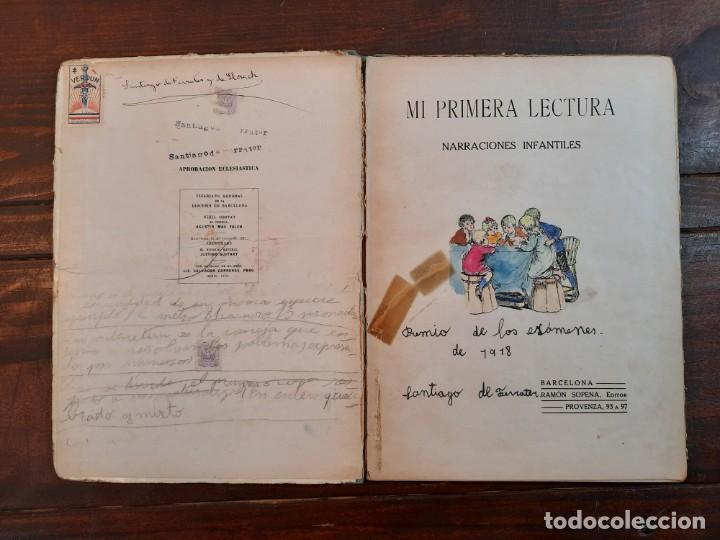 Libros antiguos: MI PRIMERA LECTURA: NARRACIONES INFANTILES - BIBLIOTECA PARA NIÑOS - RAMON SOPENA EDITOR, 1917, BCN - Foto 4 - 234768055