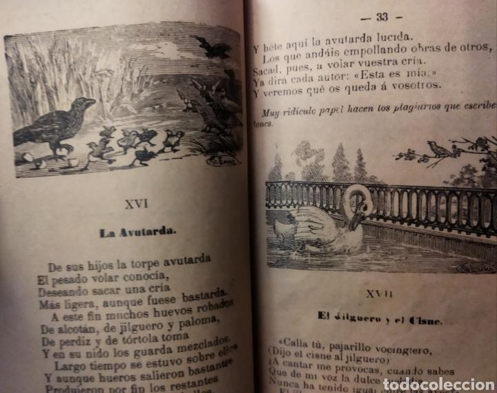 Libros antiguos: Fábulas Literarias de IRIARTE Ed.Saturnino Calleja 1901 - Foto 3 - 234997635