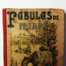 Libros antiguos: FÁBULAS LITERARIAS DE IRIARTE ED.SATURNINO CALLEJA 1901. Lote 234997635