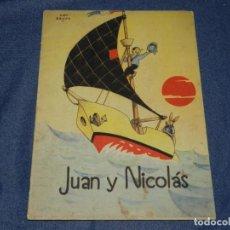 Libros antiguos: (M) CUENTO JUAN Y NICOLÁS - ILUSTRADO POR PIET BROOS, EDT. MAZ HOLLAND, PRINCIPIOS S.XX. Lote 235046145
