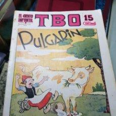 Libros antiguos: EL CUENTO INFANTIL SUPLEMENTO DE TBO PULGARIN BENEJAM ILUSTRADOR RARO 1936. Lote 235733095