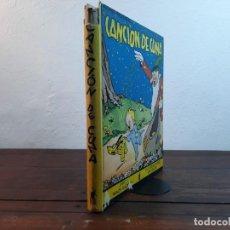 Libros antiguos: CANCION DE CUNA - CUENTO E ILUSTRACIONES POR WALT DISNEY - EDITORIAL MOLINO, 1935, 1ª EDICION, BCN. Lote 236308850