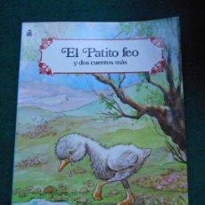 Libros antiguos: CUENTO EL PATITO FEO CARNAVAL DE CUENTOS EDITORIAL ROMA 1988. Lote 236756425
