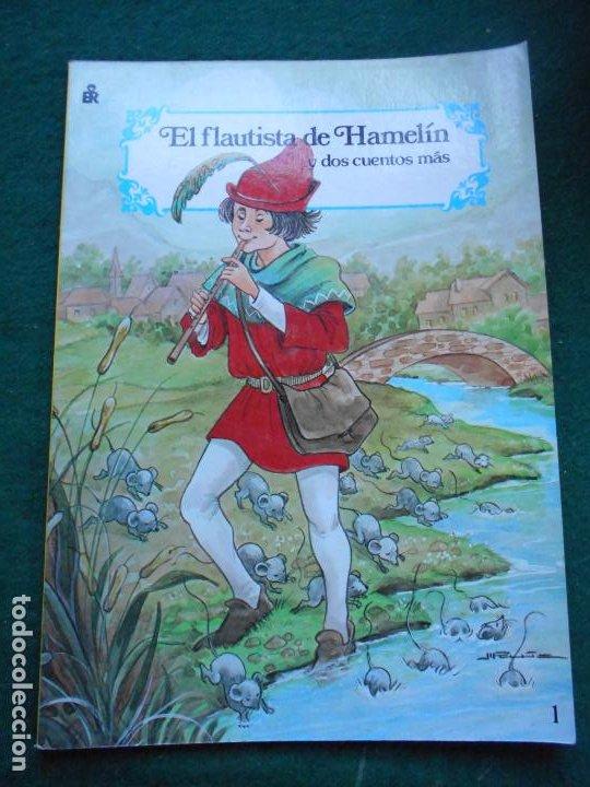 CUENTO EL FLAUTISTA DE HAMELINCARNAVAL DE CUENTOS EDITORIAL ROMA 1988 (Libros Antiguos, Raros y Curiosos - Literatura Infantil y Juvenil - Cuentos)