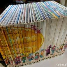 Libros antiguos: LOTE 30 LIBROS COLECCIÓN CUENTOS CLASICO, INCOMPLETA AÑO 1989 MULTILIBRO. Lote 237590040