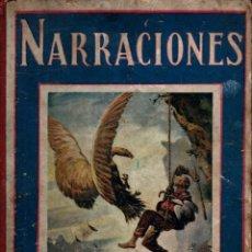 Libros antiguos: HAMER : NARRACIONES (BIBLIOTECA PARA NIÑOS SOPENA, 1935). Lote 237791755