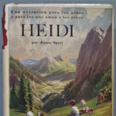 Libri antichi: 1927.- HEIDI. SPYRI. Lote 238303845