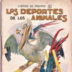 Libros antiguos: LOS DEPORTES DE LOS ANIMALES - SOPENA - ILUSTRACIONES DE J. LLAVERIAS. Lote 238429855