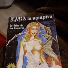 Libri antichi: ZARA LA VAMPIRA. LA REINA DE LOS VAMPIROS. Lote 238533005