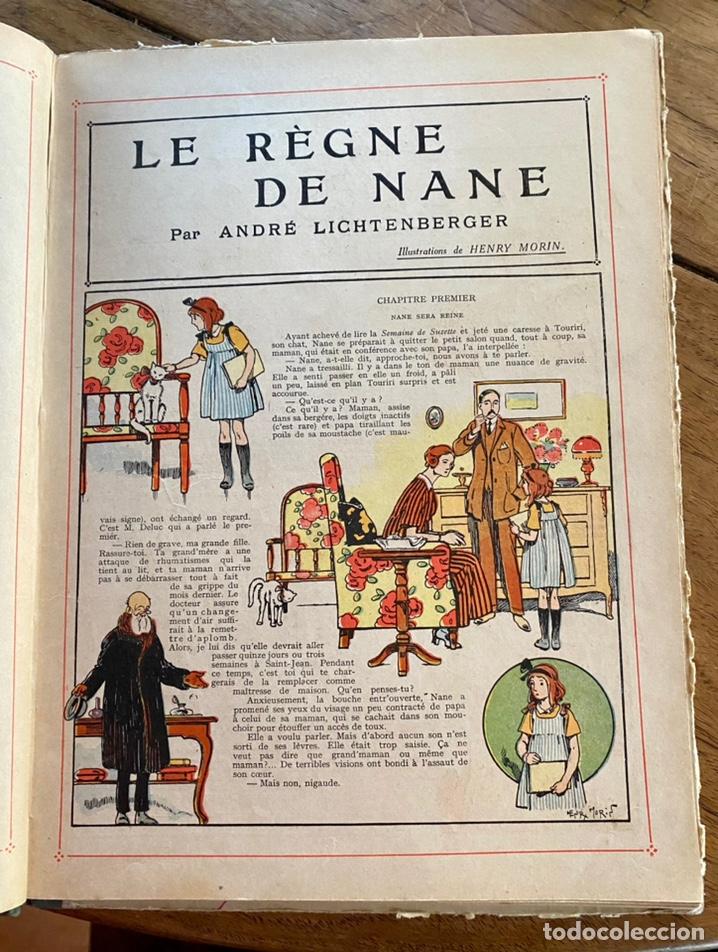 Libros antiguos: Le règne de Nane par André Lichtenberger/ 1926 - Foto 7 - 239959710