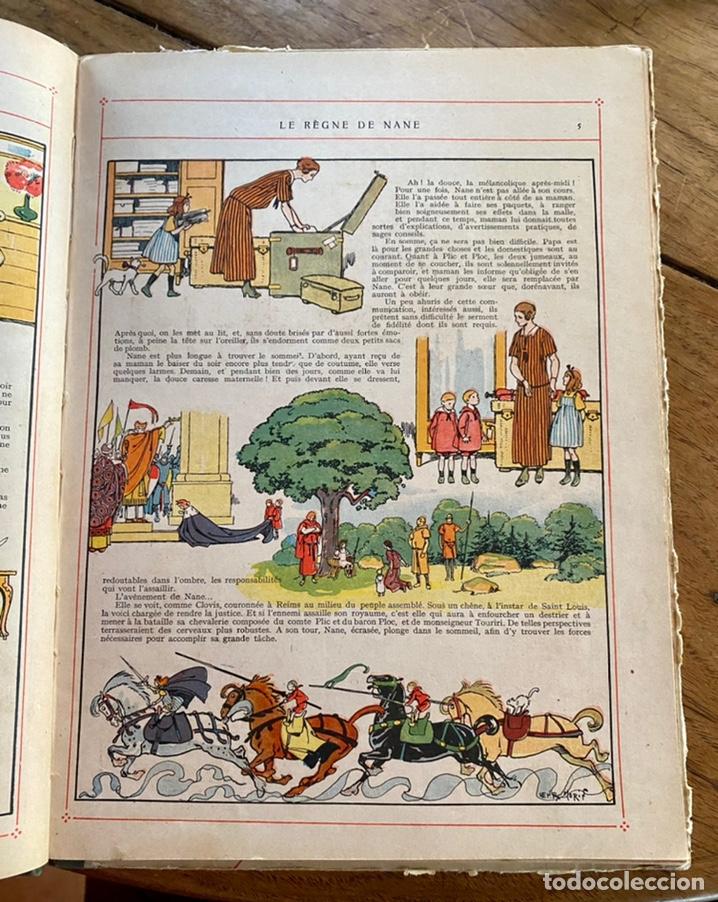 Libros antiguos: Le règne de Nane par André Lichtenberger/ 1926 - Foto 8 - 239959710