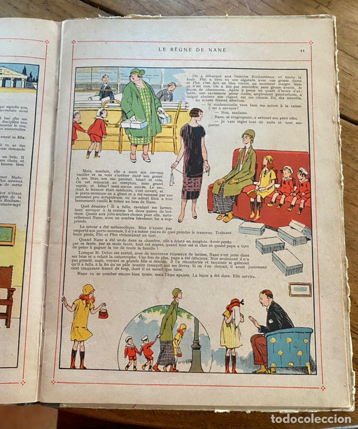 Libros antiguos: Le règne de Nane par André Lichtenberger/ 1926 - Foto 9 - 239959710