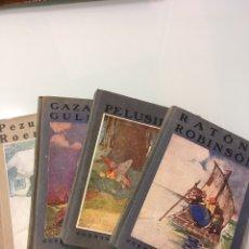 Libri antichi: CUENTOS DE CALLEJA EN COLORES SEGUNDA SERIE COMPLETA,4 TOMOS AÑO 1925. Lote 241052360