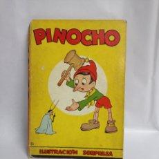 Libri antichi: PINOCHO CUENTO ANTIGUA EDITORIAL SATURNINO CALLEJA ,S.A . AÑO 1954 ILUSTRACIÓN SORPRESA. Lote 241116935