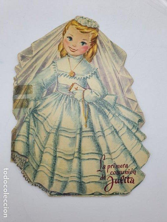 CUENTO LA PRIMERA COMUNIÓN DE JULITA ( DURVE ) 1959 ( VER FOTOS ) (Libros Antiguos, Raros y Curiosos - Literatura Infantil y Juvenil - Cuentos)