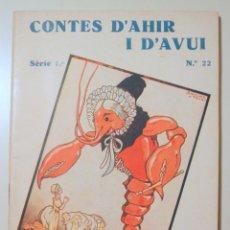 Libros antiguos: ANDERSEN, HANS CRISTIÀ - CONTES D'AHIR I D'AVUI Nº 22. HISTÒRIA DE DESITJADA, LA PRINCESA CÉRVOLA -. Lote 242325195
