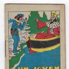 Livros antigos: JOYAS PARA NIÑOS - CUENTOS MORALES: UN JOVEN AFORTUNADO - SERIE IV - TOMO 64 ** SATURNINO CALLEJA**. Lote 242477400
