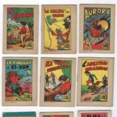 Libros antiguos: LOTE TESORO DE CUENTOS - MINI CUENTO - 9 NUMEROS - SERIE 3, 13 Y 14 **BRUGERA** VER IMAGINES. Lote 242478320