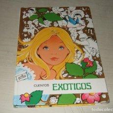 Livros antigos: LIBRO CUENTOS EXOTICOS NUM. 12 - MARIA PASCUAL - DE EDICIONES TORAY. Lote 243001080