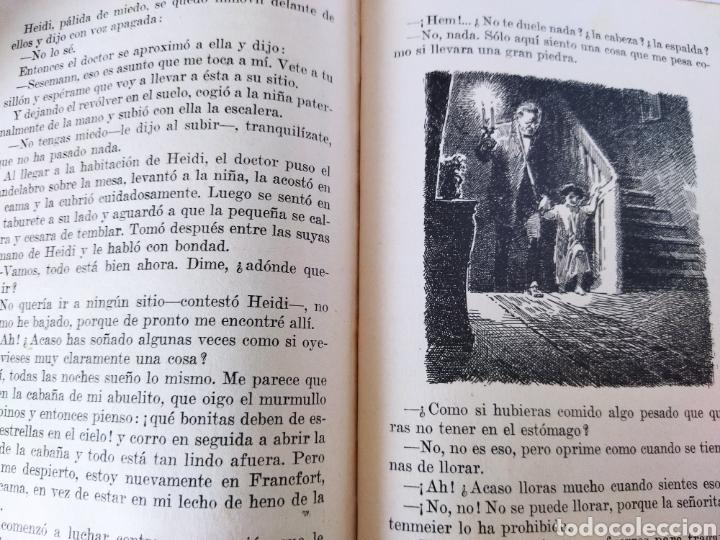 Libros antiguos: Heidi .Juana Spyri .2 edición 1931.Editorial Juventud - Foto 5 - 243605550